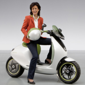 smart wird seinen elektro scooter gemeinsam mit vectrix. Black Bedroom Furniture Sets. Home Design Ideas
