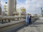 Hydraulisches Fracking im Barnett Shale in Texas