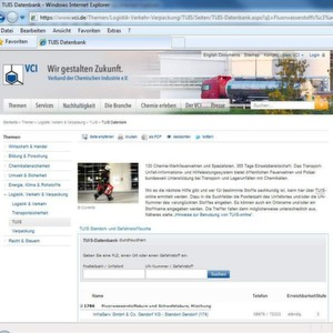 The TUIS online-database can be accessed via www.tuis.org