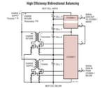 Bidirektionales Mehrzellenbatterie-Balancing mit hohem Wirkungsgrad mit dem LTC3300-1