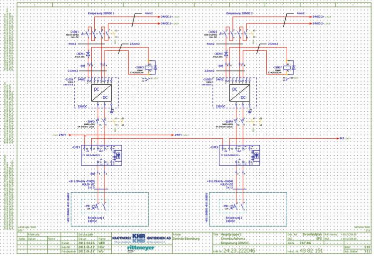 Die komplexen Schaltpläne und Auswertungen werden mit Eplan Electric ...