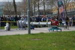In line with the motto 'all theory is grey', visitors can impressively experience the fatal results of handling hazardous substances negligently during this years POWTECH. Two live explosions are demonstrated and suitably explained in the exhibition centre park daily at 1 p.m. and 3 p.m.. Our picture gallery shows the explosion from April 23rd at 1 p.m..