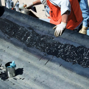 Conveyor Belt Repair With Liquid Rubber To Spray On