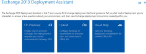 Der Exchange Deployment Assistant hilft bei der Migration zu Exchange Server 2013 oder Office 365
