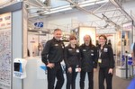 Das Parts Europe-Team mit (v.re. nach li.): Bettina Antony, Gunther und Monika Hildebrand sowie Robert Schön, Leiters Sales D, A, CH.