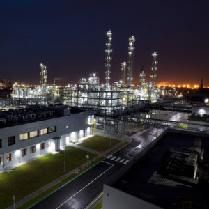 Lanxess opened the new plant in a festive ceremony with around 400 guests