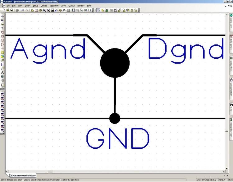 Im Schaltplan und PCB lässt sich der Signalverlauf bis zu einem ...