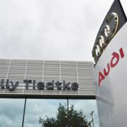 Willy Tiedtke Eröffnet Audi Terminal