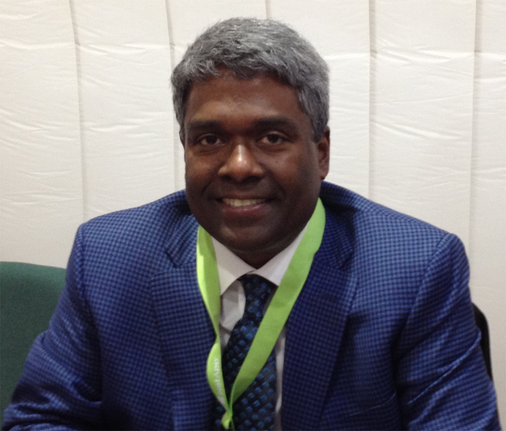 George Kurian, Executive Vice President, Product Operations bei Netapp: