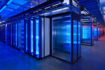 Im Server-Raum des Prineville Data Center von Facebook