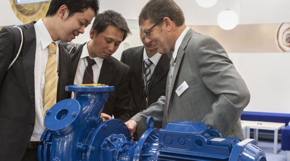 Without pumps it is impossible to imagine modern water treatment systems. And indeed the market in pumps is very diverse and, not surprisingly, there are a large number of suppliers of pumps exhibiting at IFAT.