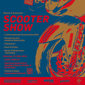 Scooter Custom Show in Köln-Kalk