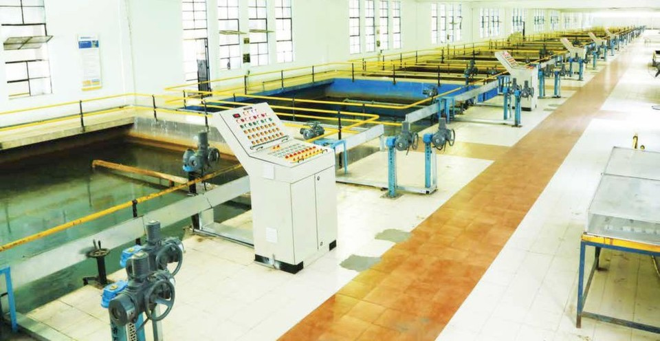 Parvati water treatment plant, Pune, which uses AUMA's actuation solutions