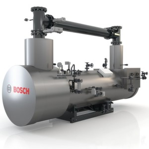 Efficient generation of process heat: The new, modular heat recovery boiler from Bosch.