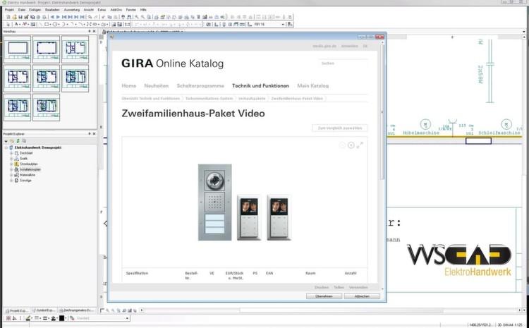 Künftig wird Gira Schaltpläne mit WSCAD Software erstellen.