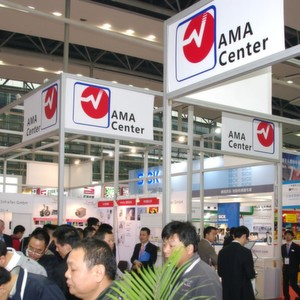 Das AMA Center for Sensors and Measurement war mit neun Ausstellern auf der SIAF 2014 in Guangzhou.