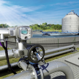 The Strengths of Electric Actuators in the Water Industry