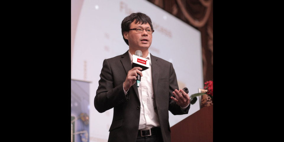 CC Wu, Vice President und Director of the Embedded Flash Division bei Innodisk