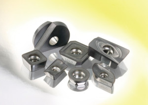 The inserts are said to be a cost-effective solution for speeding up the milling process.