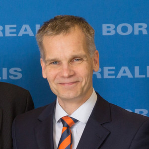 "Markku Korvenranta, Executive Vice President Base Chemicals, Borealis: ""We believe that fertilizers in Europe are an economically sustainable and attractive area of activity."""