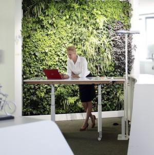 Fraunhofer Testet Den Flexiblen Arbeitsplatz Fur Das Buro Der Zukunft