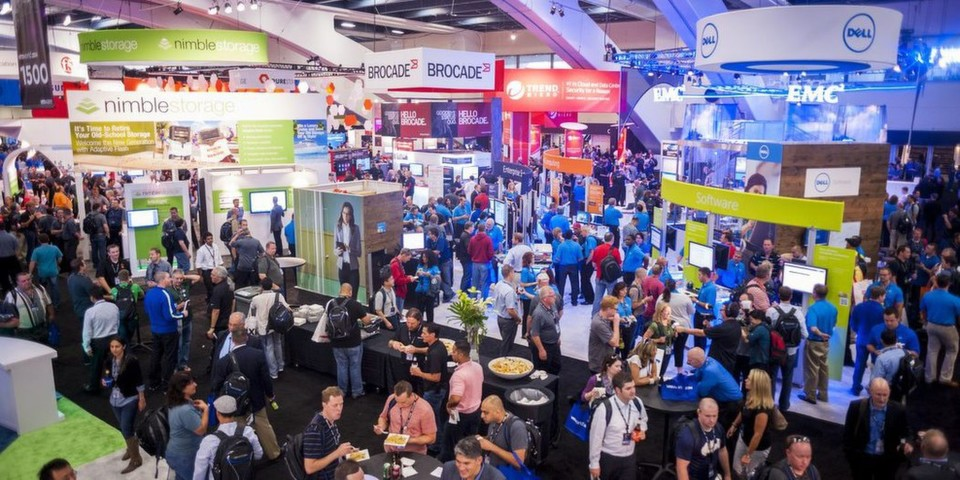 Buntes Treiben in San Francisco: die VMworld 2014.