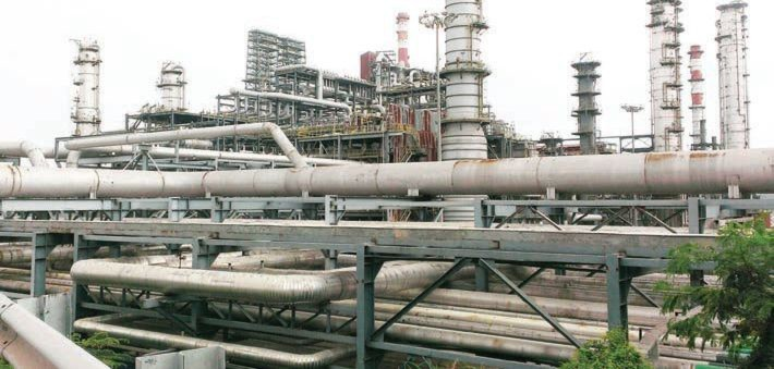 The process units at the Mangalore Refinery and Petrochemicals facility