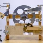 La montre mécanique remontée une fois par mois