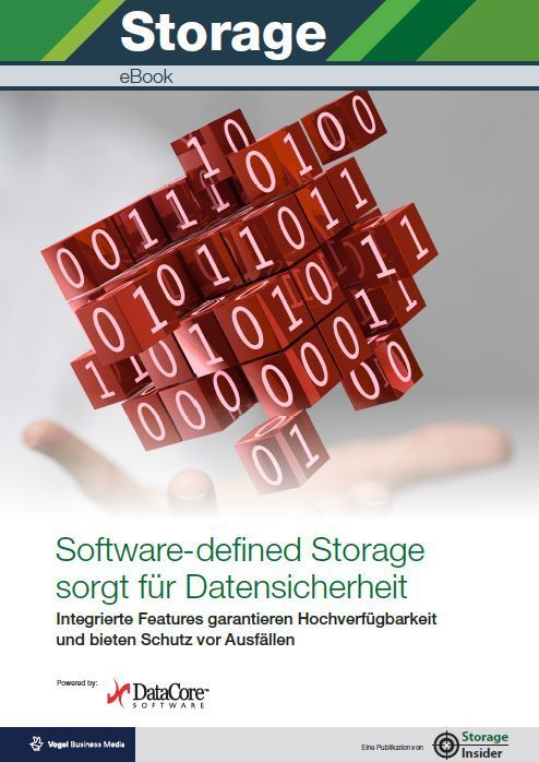 Software-defined Storage sorgt für Datensicherheit