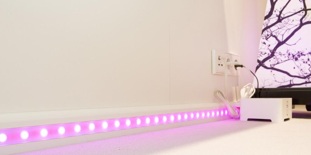 Die App-Steuerung von LED-Lampen hat nicht nur Vorteile.