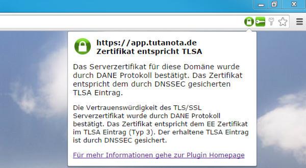 Tutanota baut auf E-Mail-Verschlüsselung mittels DANE