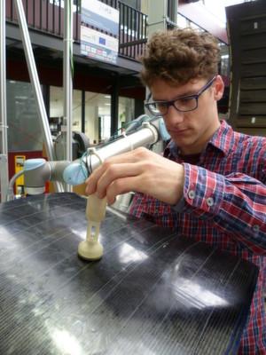 Vakuum-Greifer mit Muskel aus intelligentem Draht entwickelt