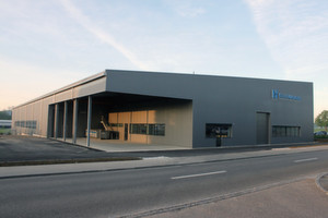 Nouvelle halle de production à Romanshorn.