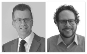 Jochachim Strobel (links) und Alexander Brendel starten am 1. November bei der infoteam Software AG