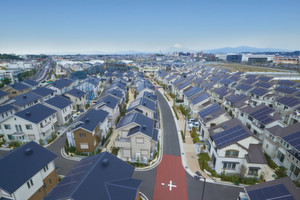 Fujisawa Smart Town. Panasonic Smart City in Japan eröffnet. Die Fujisawa Sustainable Smart Town nahe Tokio ermöglicht ihren Bewohnern einen nachhaltigen Lebensstil in allen Bereichen.