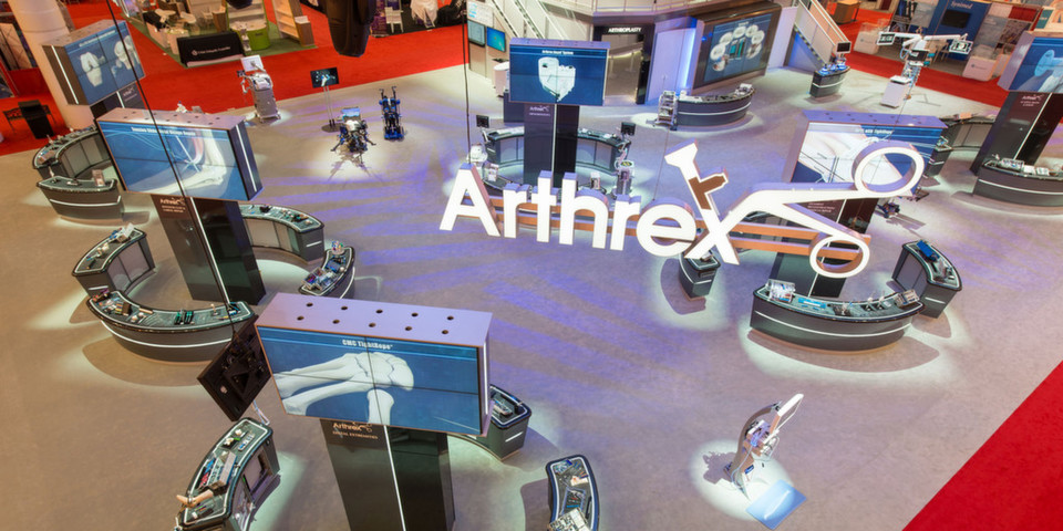 Arthrex auf dem AAOS Annual Meeting in New Orleans, LA. (American Academy of Orthopaedic Surgeons).