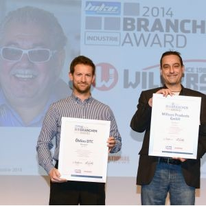 Update: Wilbers Products holt sich den Branchenaward Industrie 2014