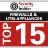 Die Top 15 der Firewall- und UTM-Appliances
