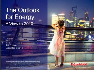 Exxon Mobile will take a look in the future of Energy consumption.