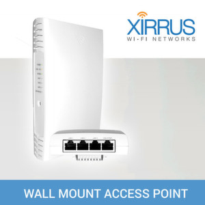 Xirrus bringt Access Point für Wandmontage