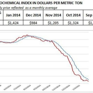 Oil Price Makes Petrochemicals a Bargain: Prices Down by 40 %