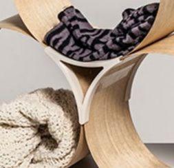 Hybrides Möbel-Design mit Unterstützung aus dem 3D-Drucker