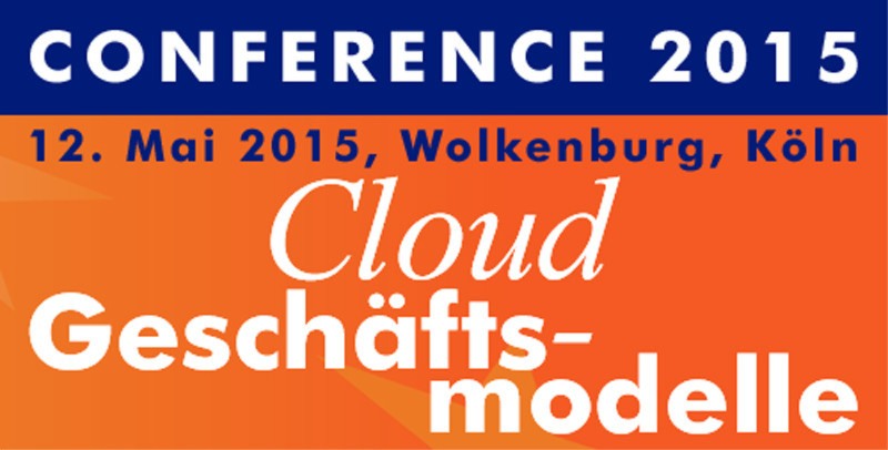 EuroCloud Deutschland Conference am 12. Mai 2015 in Köln.