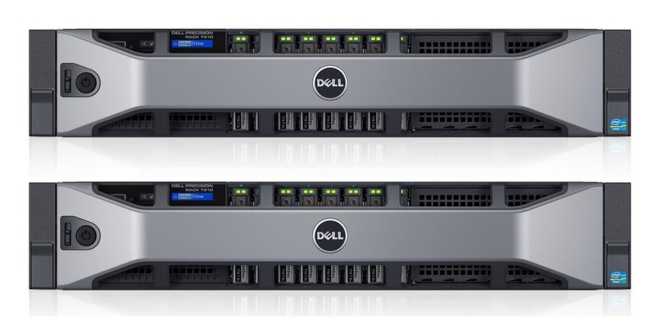 Die Dell Precision Rack 7910 Workstation dient als Basis für die Dell Precision Appliance for Wyse.