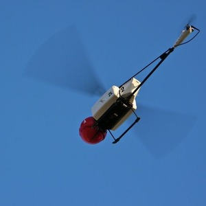 Additiv gefertigter Helikopter aus Windform-Materialien