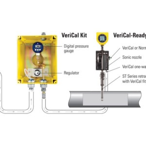 Verical System For FCI ST100 Air/Gas Flow Meter Improves Performance and Reduces Maintenance