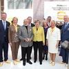 Merkel mit Premier Modi zu Besuch bei Harting
