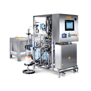 he system is notable within its product family for its precise flow control from 0.03 to 60 l/min