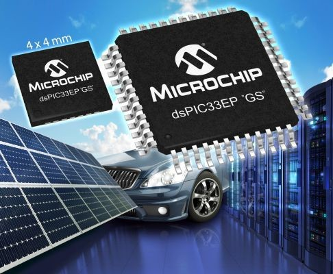 "Microchip's new dsPIC33EP ""GS"" family is optimised for digital power applications"
