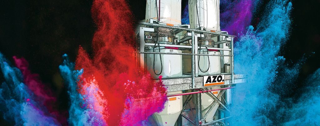 Dosing systems from Azo are well suited for powder handling.